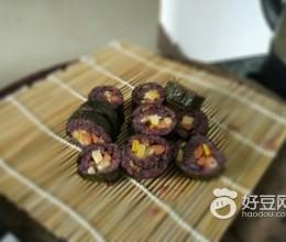 黑糯米寿司