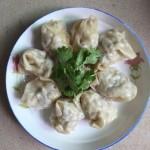 白菜香菇猪肉馅饺子