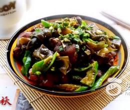 青辣椒炒酱猪蹄