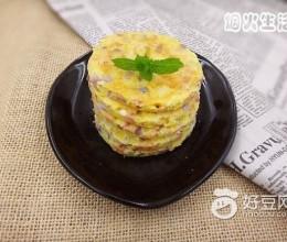 火腿洋葱早餐饼