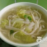 白菜清汤面