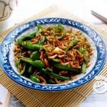 青椒炒红虾米