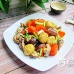 香菇胡蘿卜燒面筋