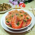 鲜虾煮粉丝