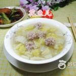 肉丸白菜汤
