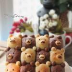 挤挤面包之双色小熊