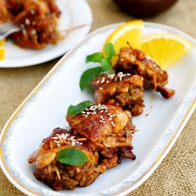 糯米酿鸡翅
