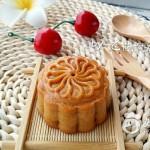 广式蔓越莓绿豆沙月饼