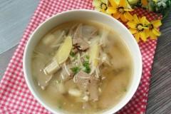 猪肝汤的功效-金针猪肝汤
