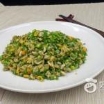 薄殼米炒韭菜花