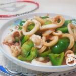 青椒鱿鱼圈