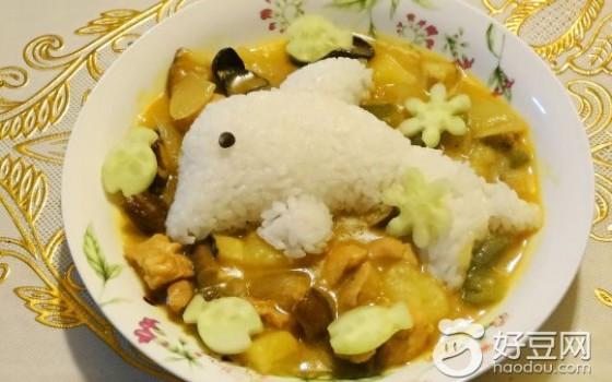 海豚咖喱饭