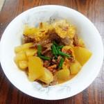 砂锅炖白萝卜
