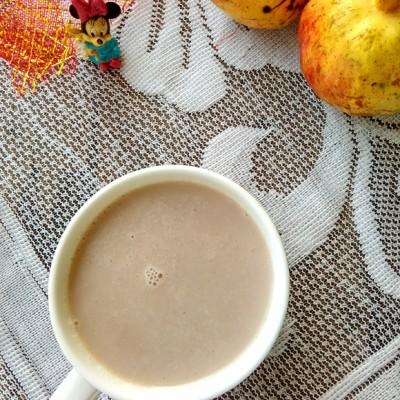 石榴熟豆豆浆