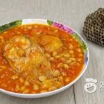 茄汁黄豆焖巴沙鱼
