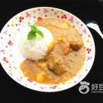 牛腩咖喱飯