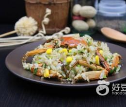 炒饭怎么做好吃-蟹炒饭