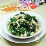 白玉菇炒菠菜