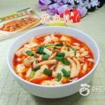 辣味白玉菇豆腐