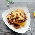 花菜炒牛肉