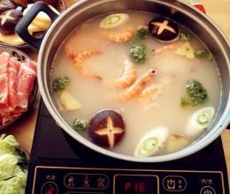 海底捞鲜虾火锅