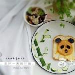 熊猫拼盘-摆盘围边