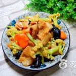 花菜炒五花肉