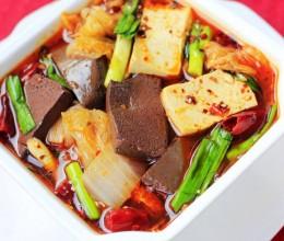 白菜炖黑白豆腐