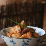 香菇蒸排骨 (压力锅