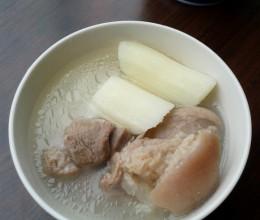 山药蹄髈汤