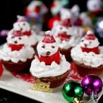 圣诞小熊蛋糕