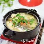 鱼头煮豆腐