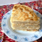 油酥五香千层饼