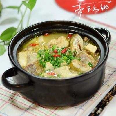江鲶炖豆腐