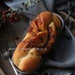 红糖花生酱辫子面包
