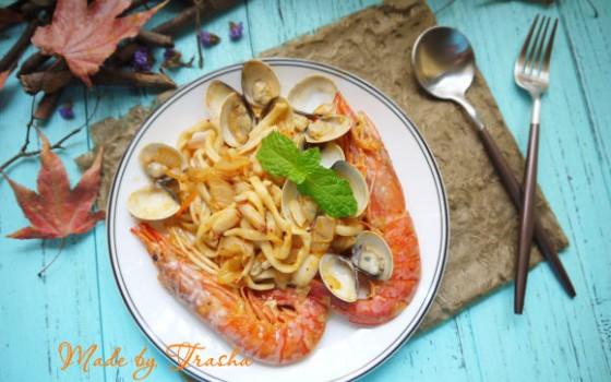 海鲜泡菜面
