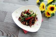 香菜拌驴肉
