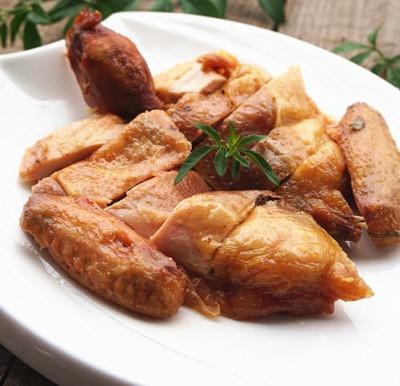 微波盐焗鸡
