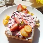 草莓原味小方