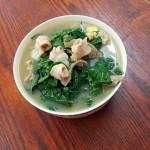 三鲜枸杞叶汤