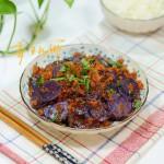 鲊广椒炒紫土豆