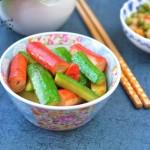 黄瓜焖蟹棒#本味家乡