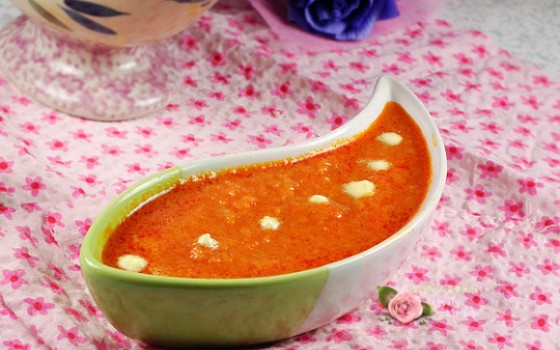 奶油番茄浓汤