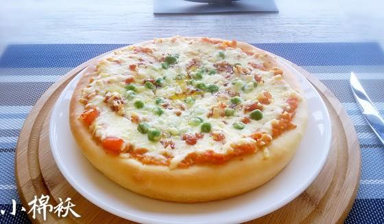 广式腊肠披萨