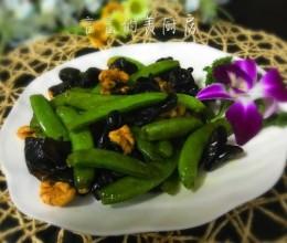 小炒木耳甜豆