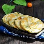 饺子皮葱花饼