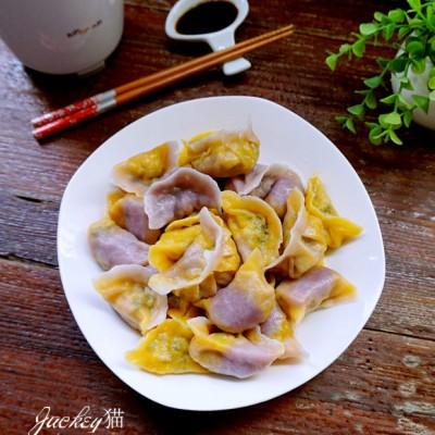 酸菜鲜肉彩饺