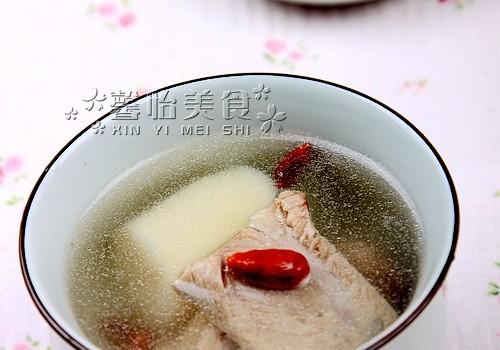山药黑豆排骨汤