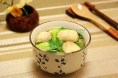 青菜草菇汤