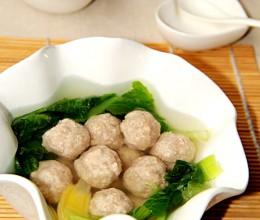 白菜肉丸汤
